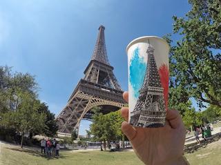 Paris,Menara Eiffel