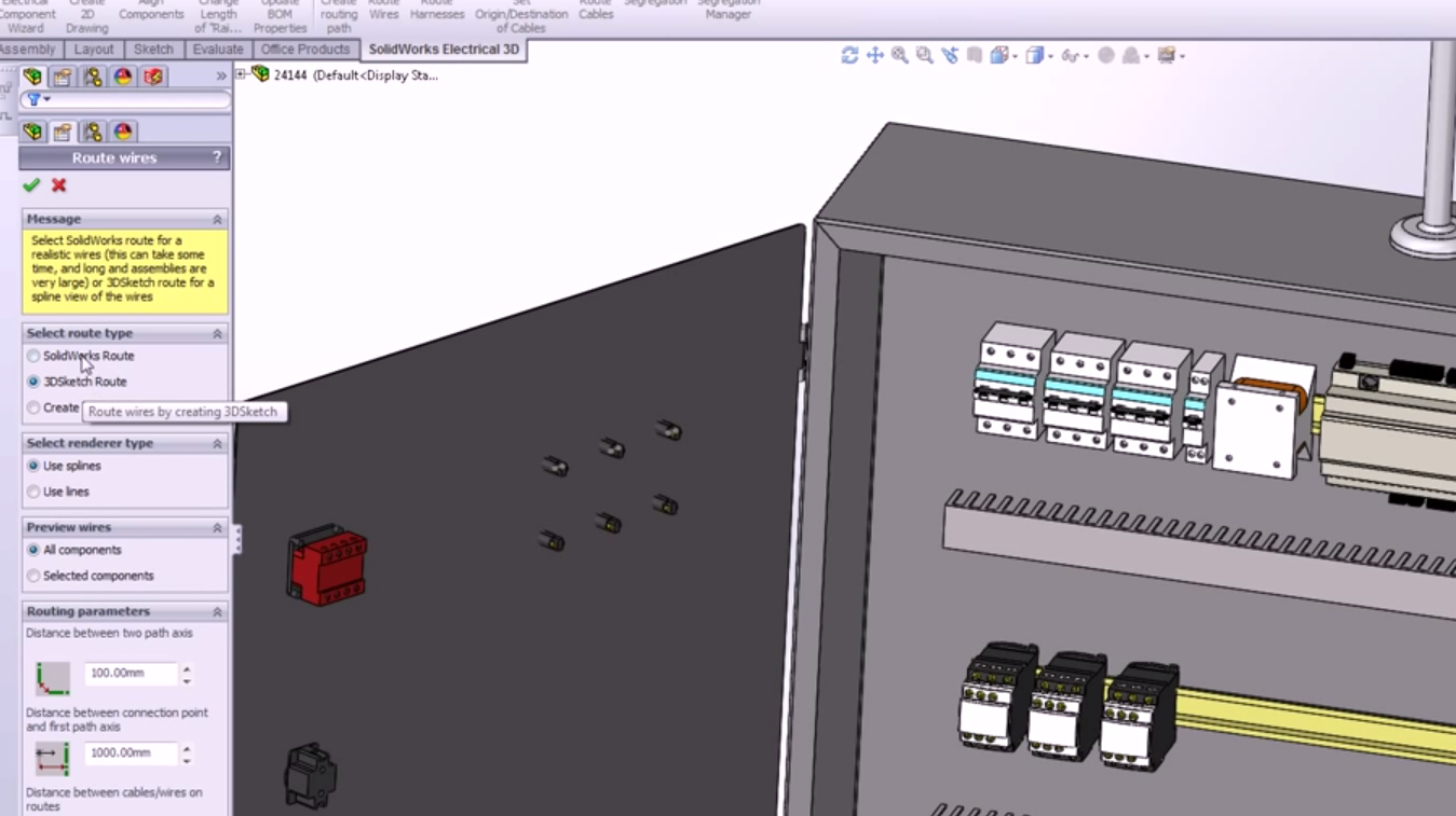 SOLIDWORKS Electrical: Part 2 SOLIDWORKS Electrical 3D