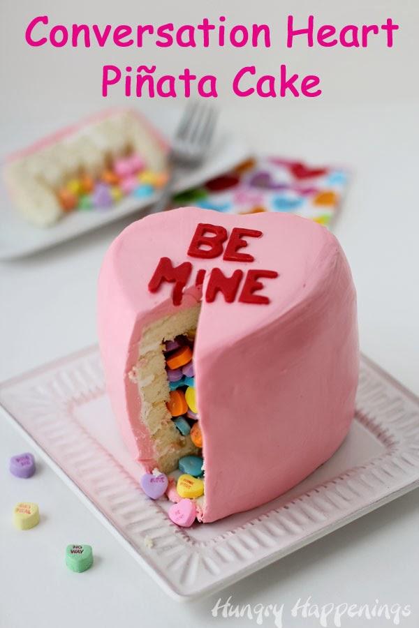 Melting Heart Cake Recipe