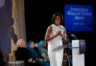Phát biểu của Đệ Nhất Phu Nhân Hoa Kỳ, trong ngày trao Giải Thưởng Phụ Nữ Quốc Tế Can Đảm