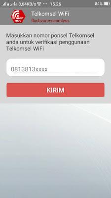 cara daftar wifi flash zone