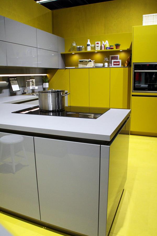 Thema Gelb auf der Living Kitchen Internationalen Möbelmesse imm2017 in Köln mit Herstellern wie String, Vita, Bloomingville,Cane-line und Carolijn Slottje