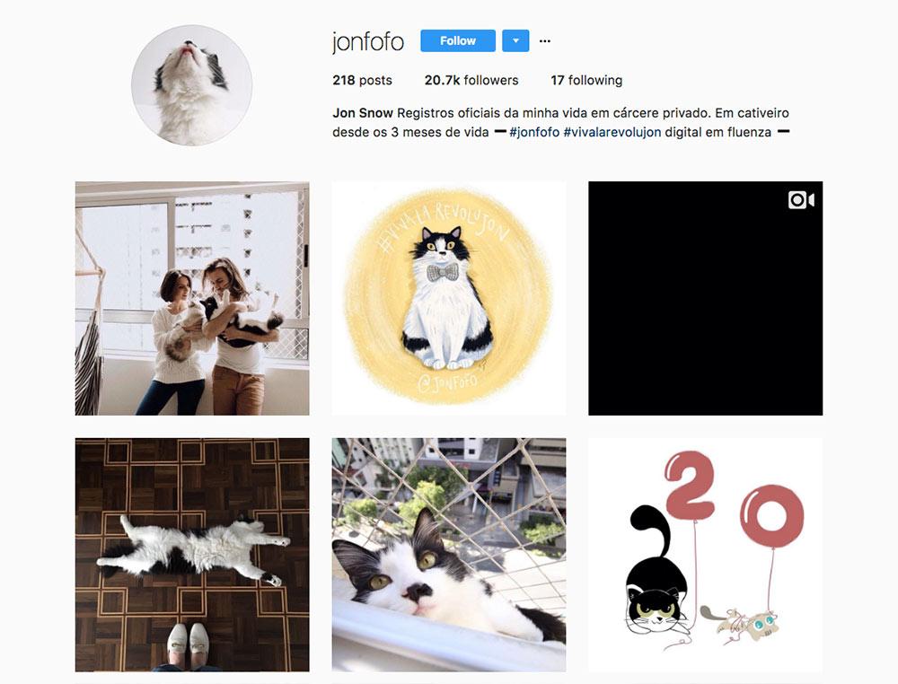 Instagram Jon Snow
