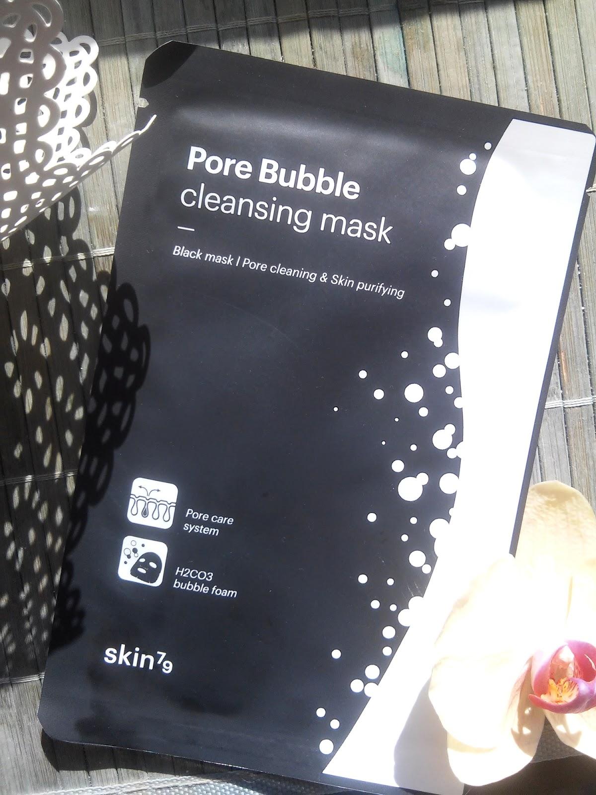 Skin79, Pore Bubble Cleansing Mask, Nowa maska w płachcie bąbelkująca