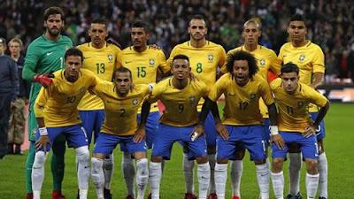Daftar Pemain Timnas Brasil