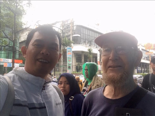 Kesaksian Mengejutkan Mr. Paul dari Amerika di Tengah Aksi Damai 212