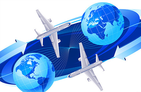 Aeroplane Flying Direction