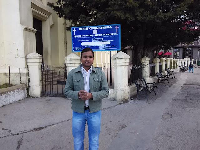 church in shimla