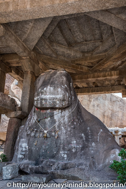 Hampi Eduru Basavanna or Nandi