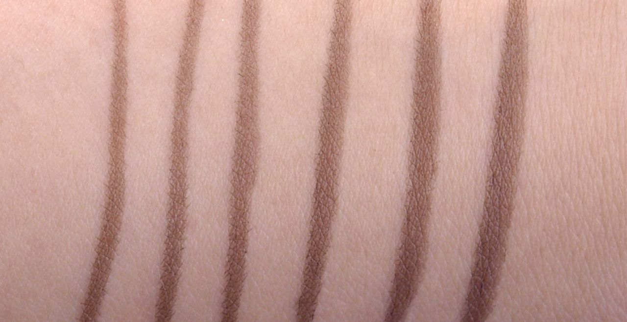 "Lise Watier Féline Eyeliner HD Liquid Eyeliner in ""Brown"" Review Swatches"
