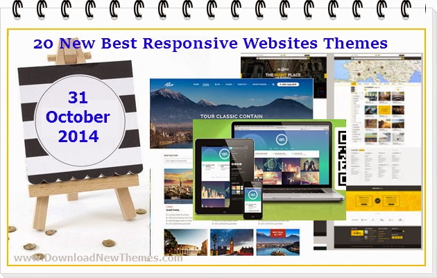 20 New Best Responsive Websites Themes