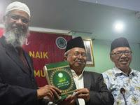 Ahoker Kepanasan, KH Ma'ruf Amin Rais Aam PBNU Justru Menyambut Baik Zakir Naik
