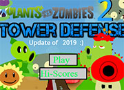 Plants vs Zombies Tower Defence 2