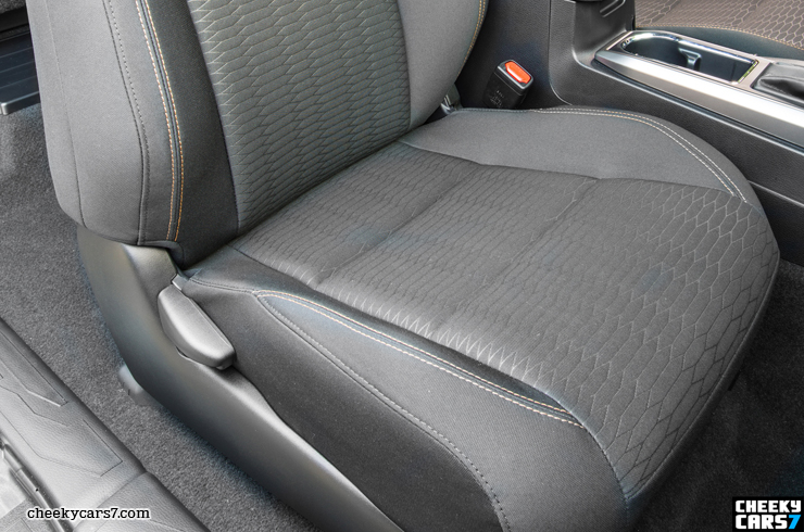 WTB Stock Dr Side Seat Cover SR5 Grey  Tacoma World