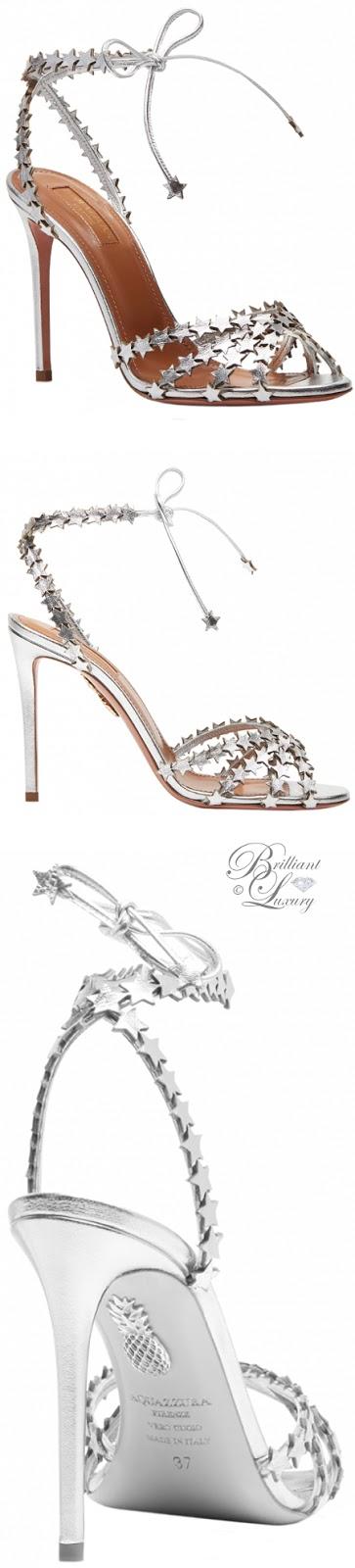Brilliant Luxury ♦ Aquazzura Starlight Sandals