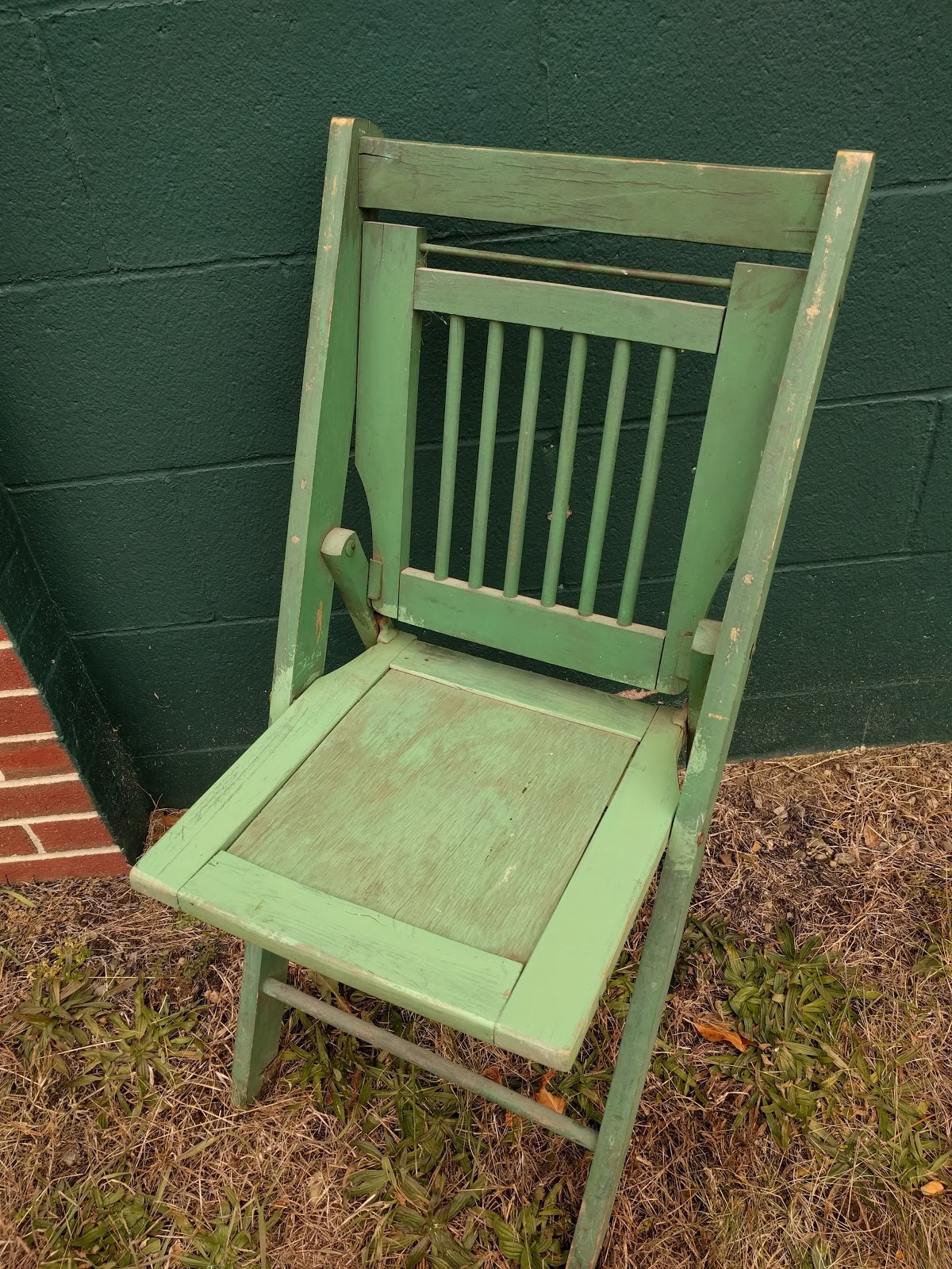 Yankees Folding Chair Turquoise Leather And Ottoman Things I Have Seen Look What Saw At The Green Center