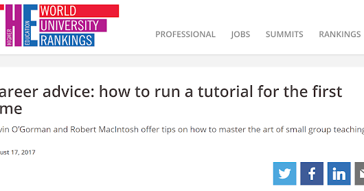 How to run a tutorial for the first time