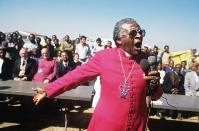 Ana Isabel Ordonez's THE AYE to Celebrate the 85th Birthday of Monseigneur Desmond Tutu in Cape Town