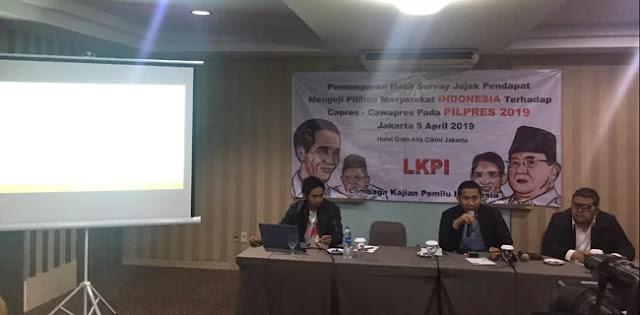 Survei LKPI: Mayoritas Masyarakat Ingin Presiden Baru