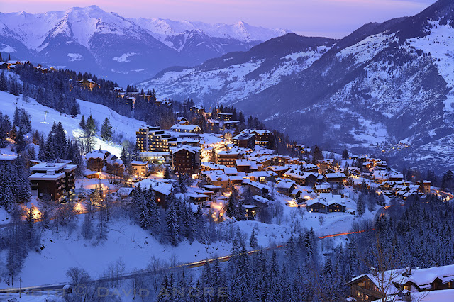 Estação de Esqui Courchevel na França