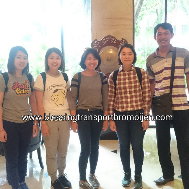 Nyein and friends (SG), transport from Surabaya to Mount Bromo. May 30th-31st, 2017.