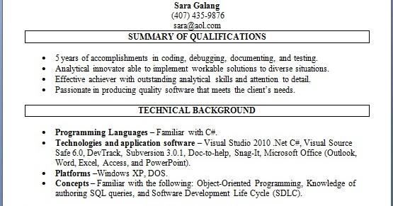 modern software engineer curriculum vitae format in word free download
