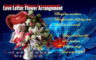Love Letter Magnum Florist Rose Mawar  Flower Online Jakarta