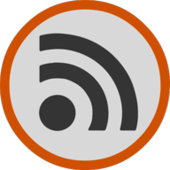 rss button outline
