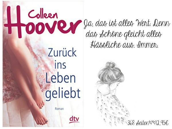 REZENSION||ZURÜCK INS LEBEN GELIEBT~COLLEEN HOOVER