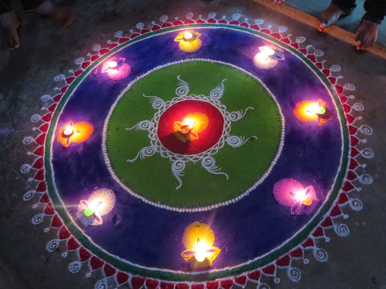 Rangoli Diwali Collection 26