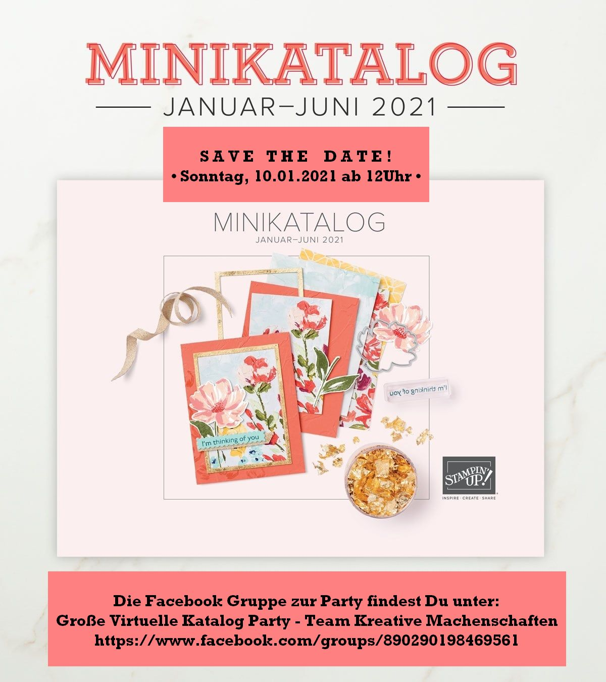 Katalogparty bei Facebook 10.01.2021