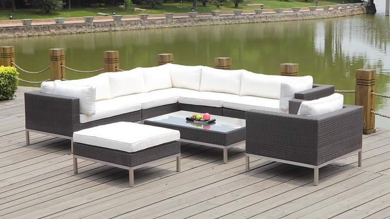 Garten Lounge M Auf Rattan Gartenmöbel Lounge