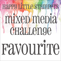 Happy Little Stamper May Mixed Media Challenge