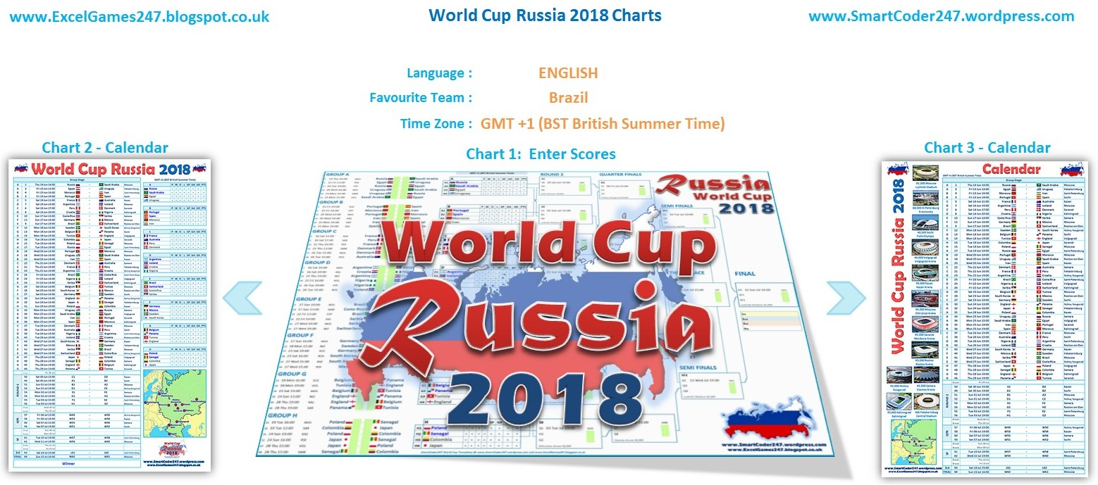 Basic fifa football world cup russia charts for microsoft excel template comparison also smartcoder templates rh excelgames spot