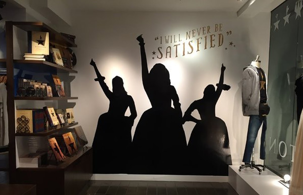 photo inside the Hamilton store