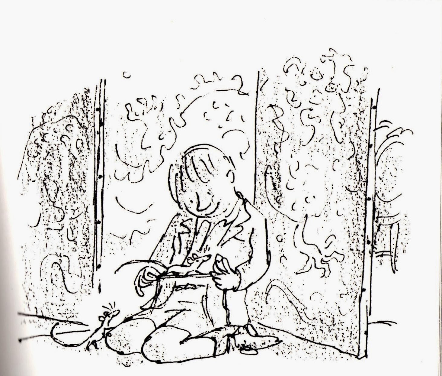 Chelsea Coils Illustration Roald Dahl The Witches