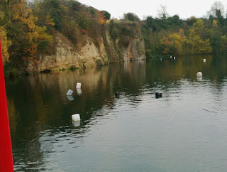 Dosthill Quarry, Tamworth - crystal clear water