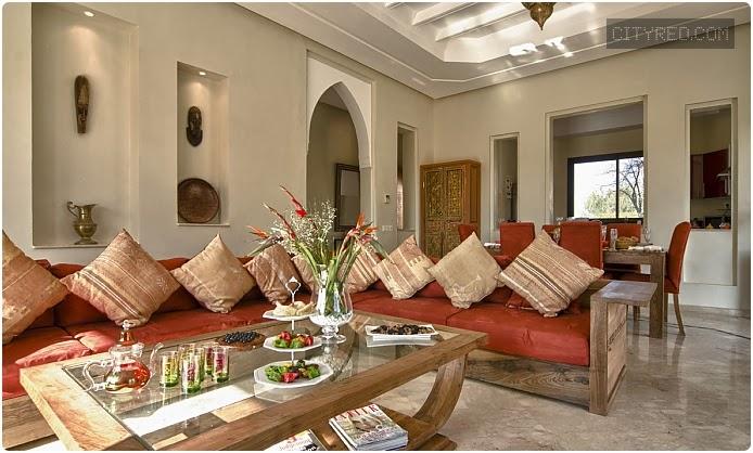 Salon Moderne Villa 2014 - Décoration Platre Maroc - Faux ...
