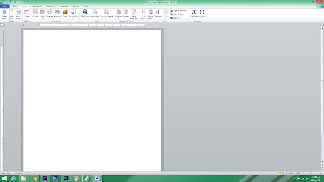 Lembar kerja microsoft word
