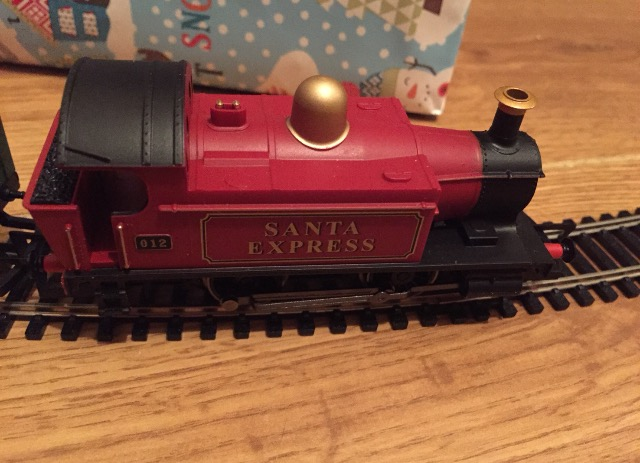 Santa's Express engine