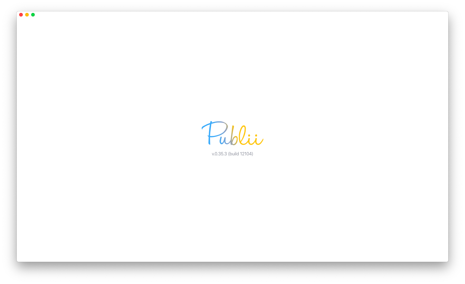 tampilan awal publii