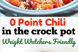 0 Point Chili in the Crock Pot