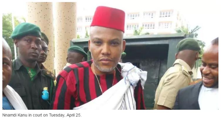 IPOB leader, Nnamdi Kanu granted Bail by High Court in Abuja