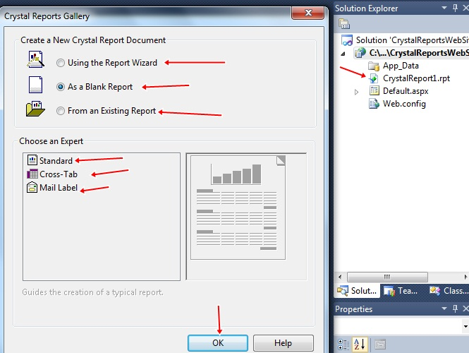 How to install Crystal Reports on your visual studio 2010
