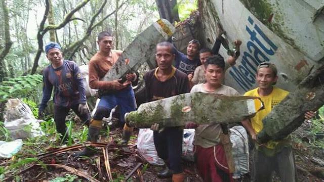4 Fakta Pesawat yang Ditemukan di Hutan Setelah Jatuh 26 Tahun Lalu
