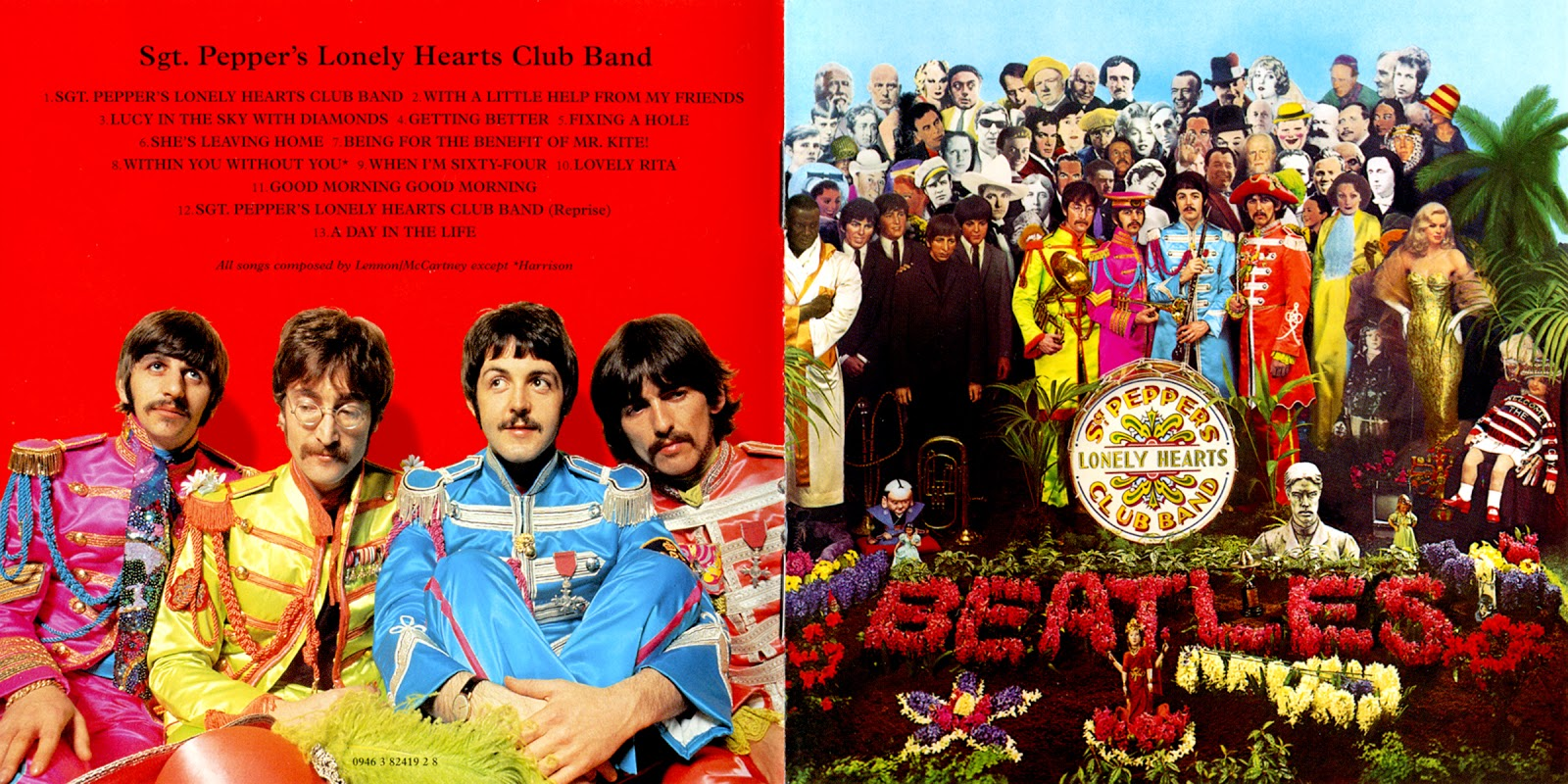 beatles forever the beatles sgt pepper 39 s lonely hearts club band cd remaster 2009 folhetos. Black Bedroom Furniture Sets. Home Design Ideas