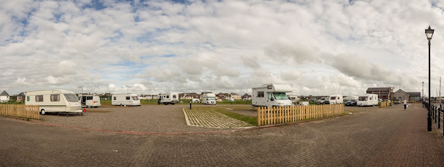 Photo of the new marina caravan park