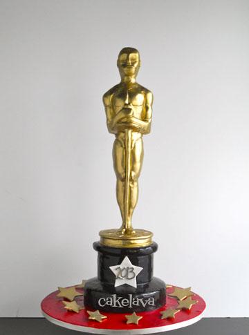 Oscar Statue Cake Topper