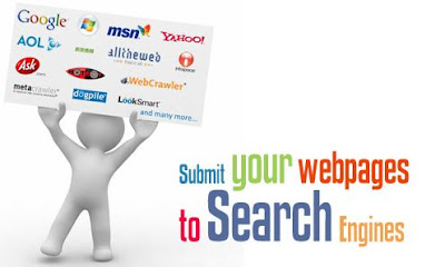 learn Submit URL to search engines for free blogger
