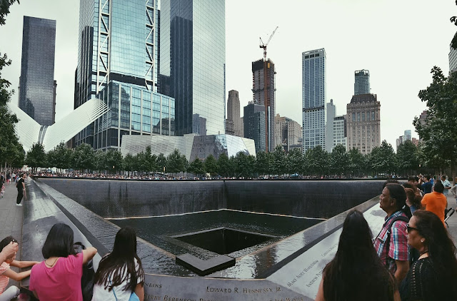 New-York-City-With-Timex-Watches-Ground-Zero-9/11-Memorial-Park